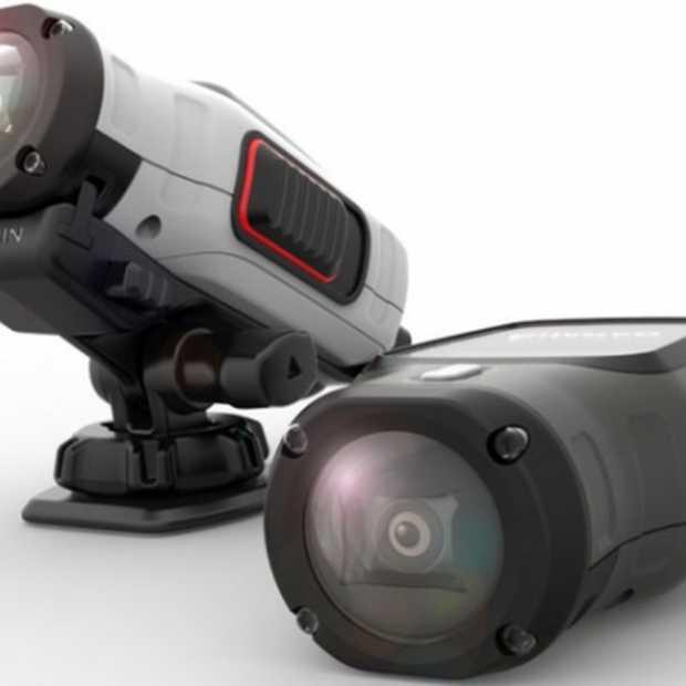 Garmin gaat concurrentie aan met GoPro's en Sony Actioncam's