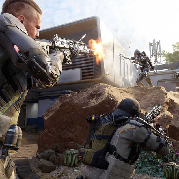 Gamescom 2015: Call of Duty Black Ops 3 overtuigt niet meteen