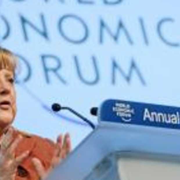 Gebruik social media tijdens World Economic Forum [Infographic]