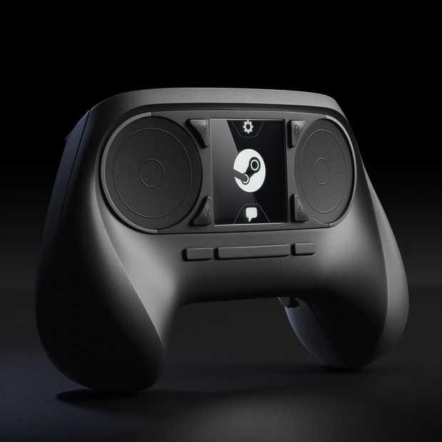Geen touchscreen meer voor de Steam Controller