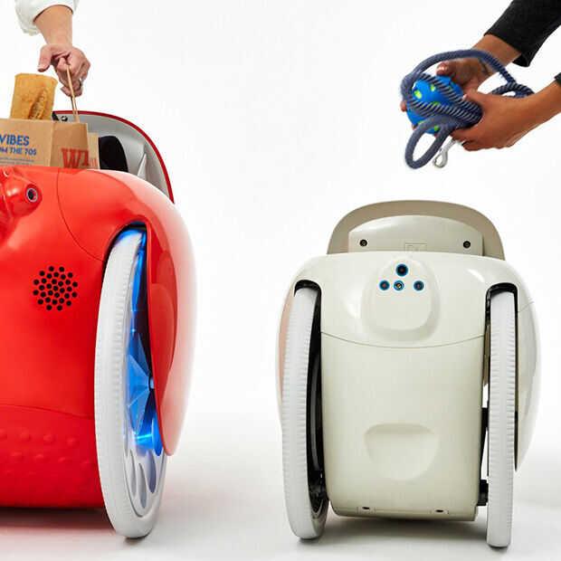Rugzak teveel moeite? Robot Gitamini draagt je spullen voor je
