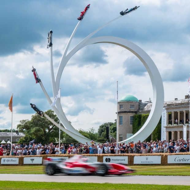 Goodwood Festival of Speed is hét auto-Walhalla van Engeland