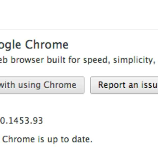 Google Chrome 27 laadt pagina's 5% sneller