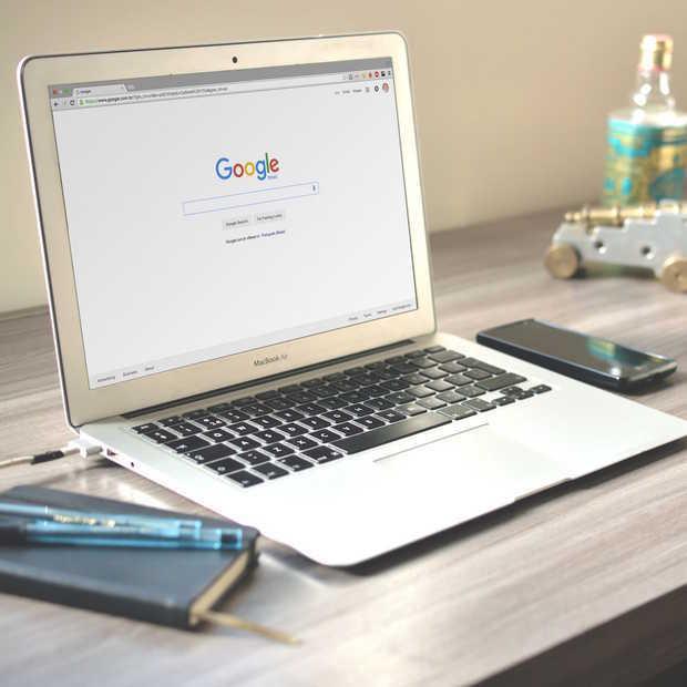 Google test Material Design voor zoekmachine