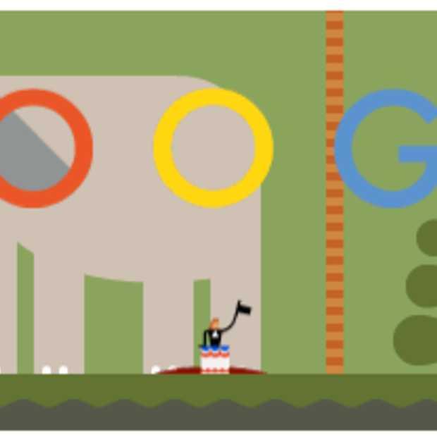 Google Doodle: De eerste parachutesprong van André-Jacques Garnerin