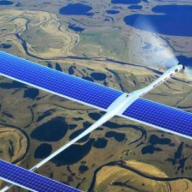 Gratis internet verspreidende Facebook Drones worden vanaf 2015 getest