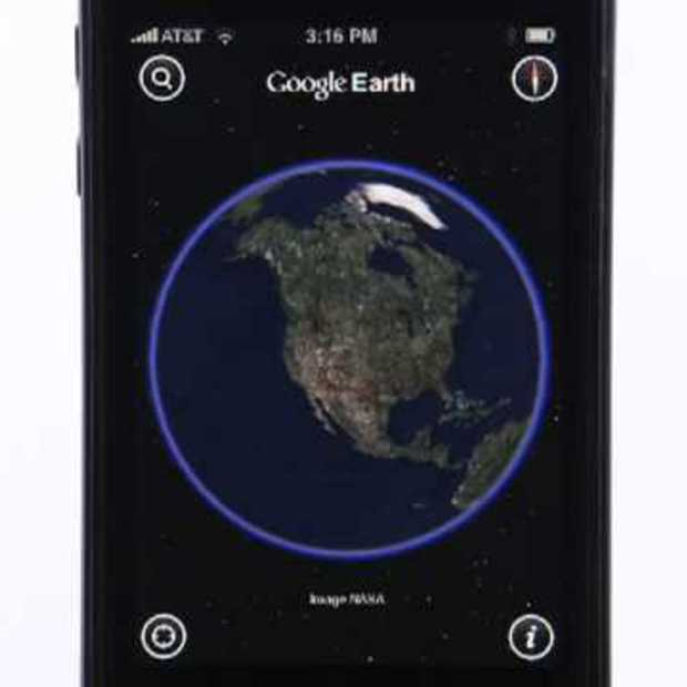 Google Earth voor de iPhone