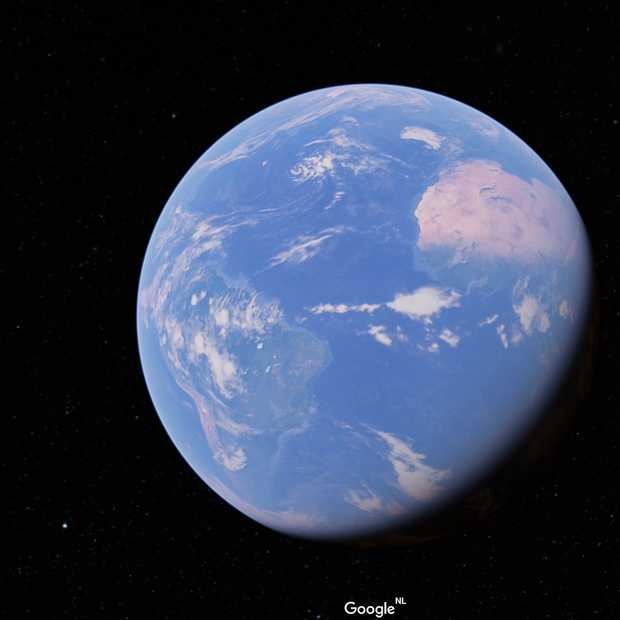 Dit is de nieuwe Google Earth: redesign en 3D-view