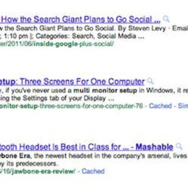 Google geeft auteurs weer in zoekresultaten