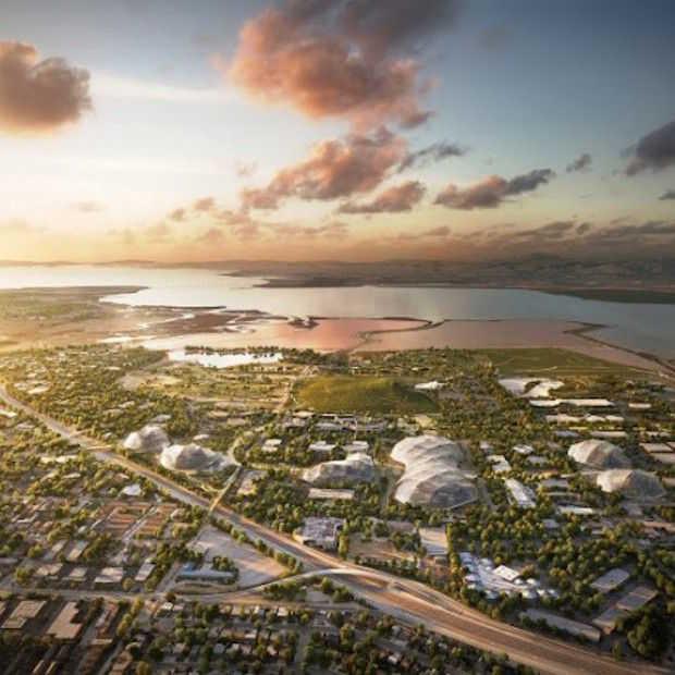 Google's plannen voor nieuwe HQ zijn waanzinnig