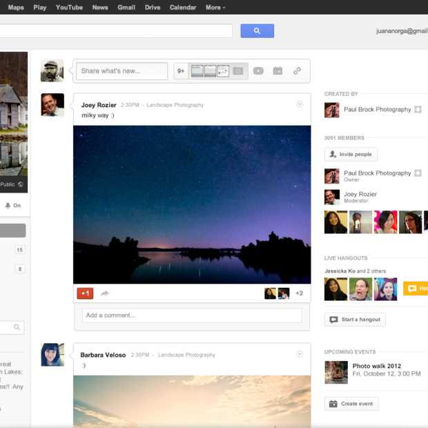 Google lanceert Google+ Communities