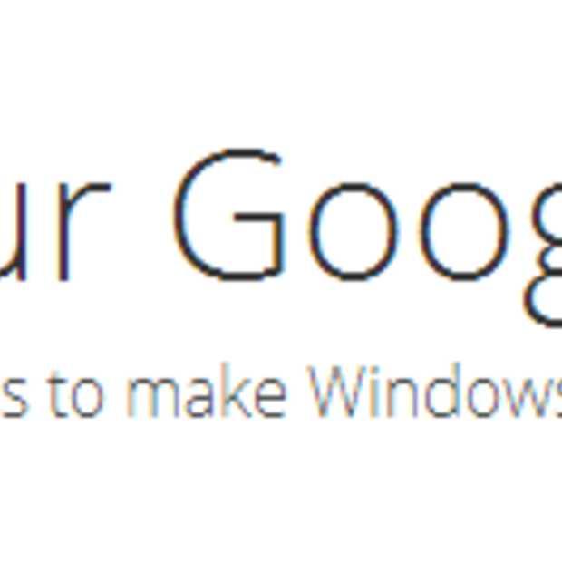 Google legt het uit: Google Search en Chrome in Windows 8