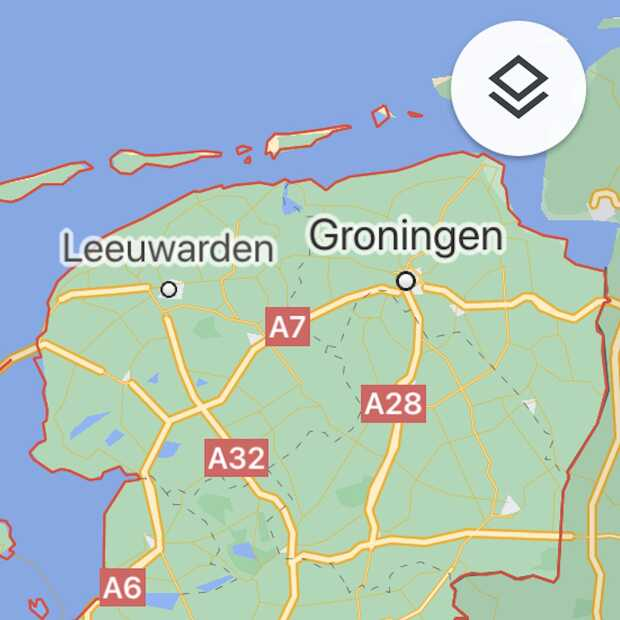 Google Maps toont voortaan aantal Covid-19 gevallen per gebied