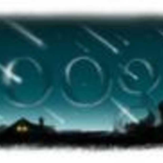 Google past Doodle aan voor Perseids