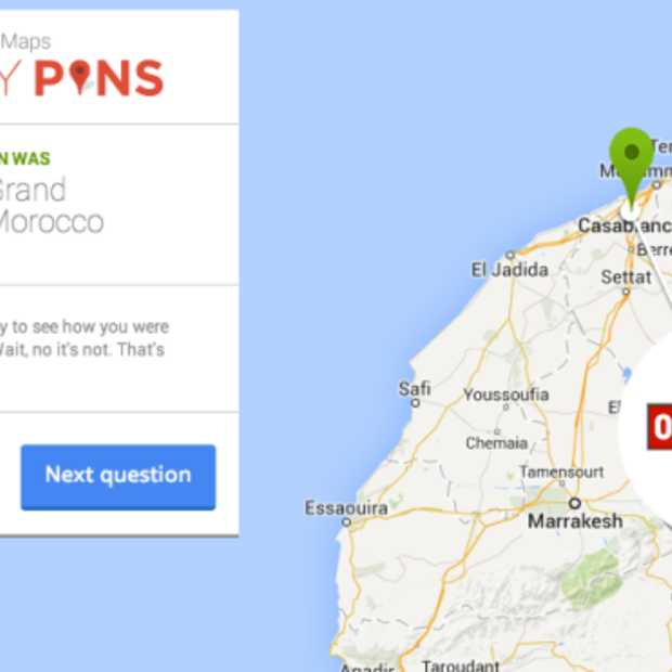 Google's Smarty Pins: hoe goed is jouw topografische kennis?