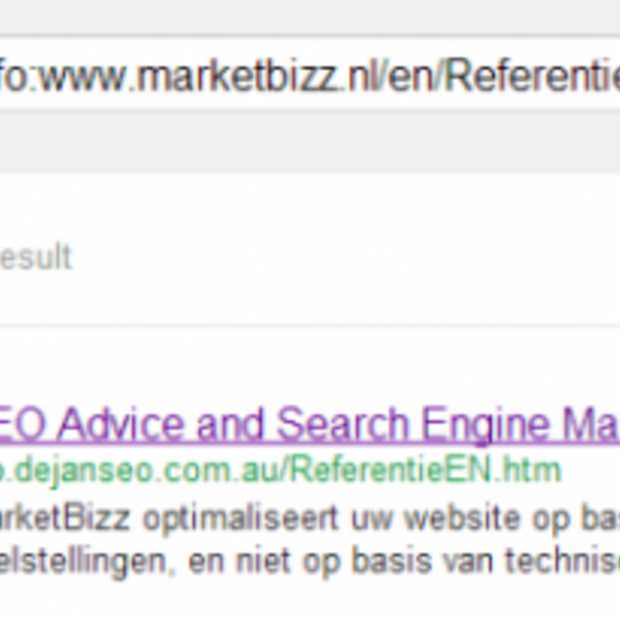 Google Search hijacken met dubbele resultaten
