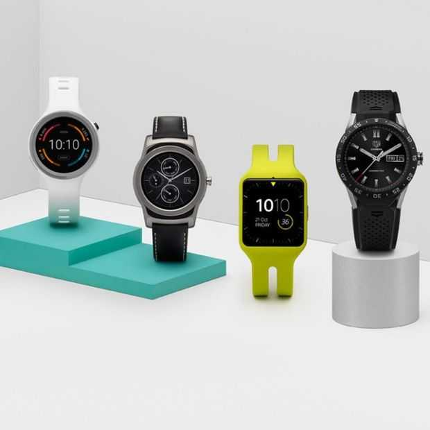 Gerucht: Google lanceert Android Wear 2.0 smartwatches begin 2017