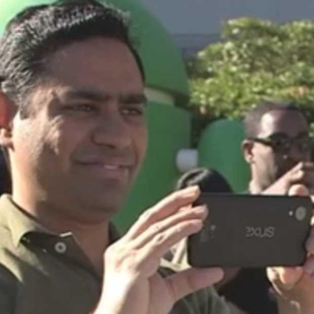 Google toont nieuwe Nexus per ongeluk in KitKat-video