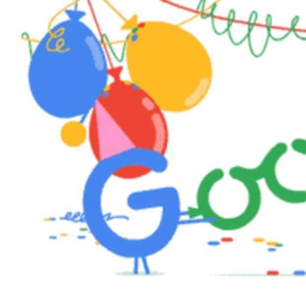 Google is jarig!