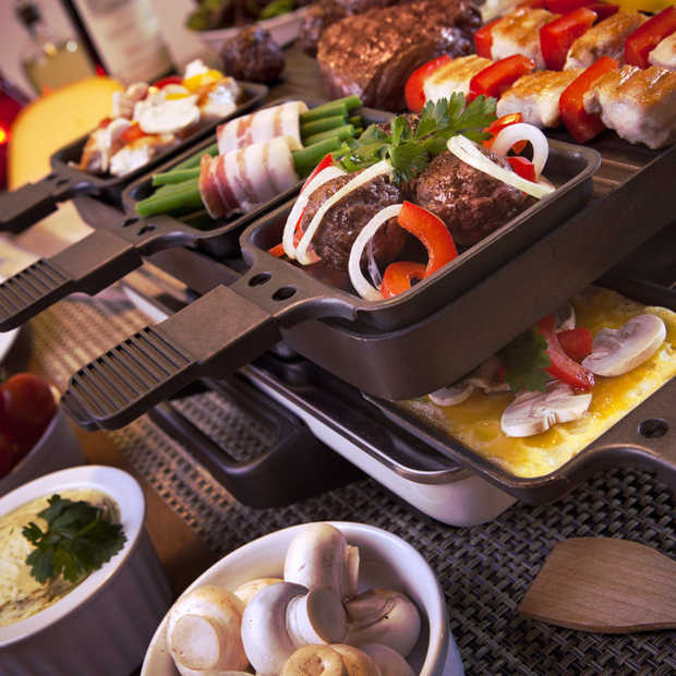 Je kan ook heerlijk in de zomer gaan gourmetten