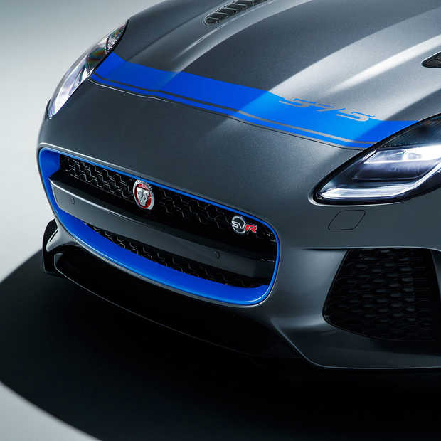 Graphic Pack om de Jaguar F-TYPE SVR nog meer te personaliseren