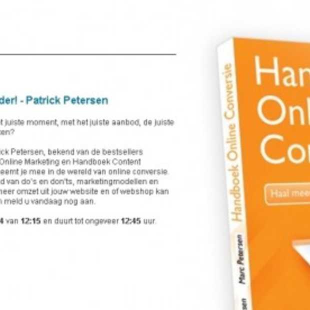 Gratis webinar over online conversie 3.0 op 3 juni