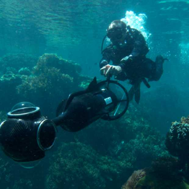 Great Barrier Reef straks te zien met Google Street View
