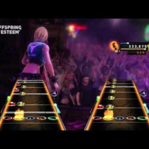 Guitar Hero Warriors of Rock setlist act 1