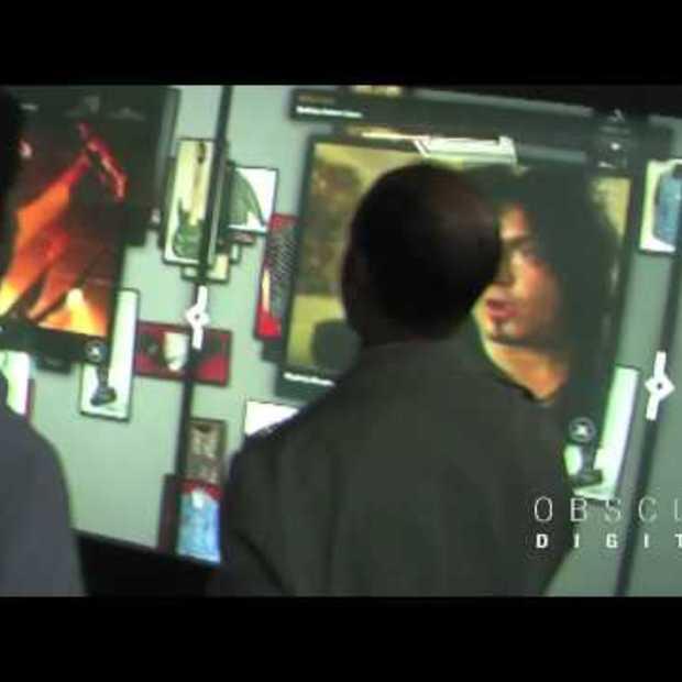Hard Rock Cafe Multi-Touch, Multi-user wall, Las Vegas