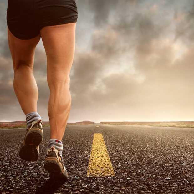 Hardlopers rennen gemiddeld 34 kilometer per maand