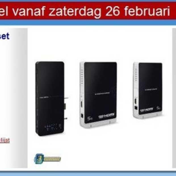 Hardware: Draadloze HDMI-set/switcher van Envivo
