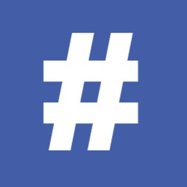 Hashtags inmiddels ook beschikbaar op Facebook