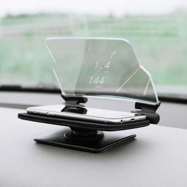 Veilig achter het stuur met HUDWAY Glass