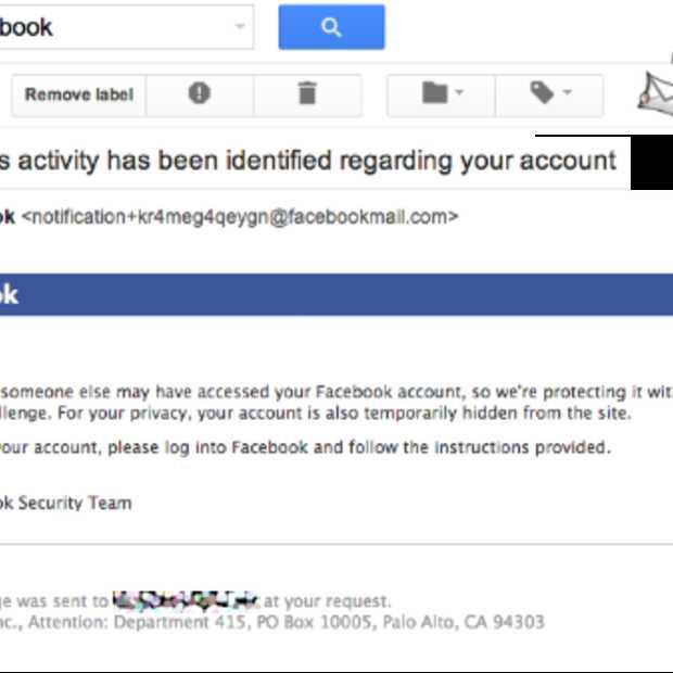 Heeft er iemand aan mijn Facebook gezeten?