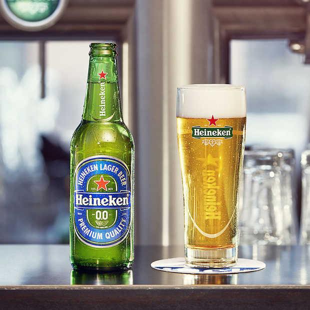 Het eerste alcoholvrije biertje van Heineken