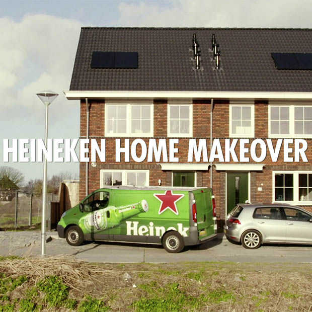 Heineken Home Makeover