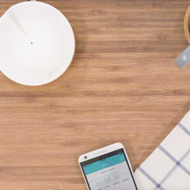 Perfect Wi-Fi-bereik door het hele huis op één netwerk met Deco
