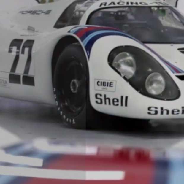 Het interactieve verhaal van Porsche