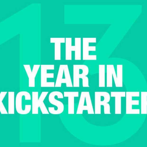 Het jaar 2013 van Kickstarter