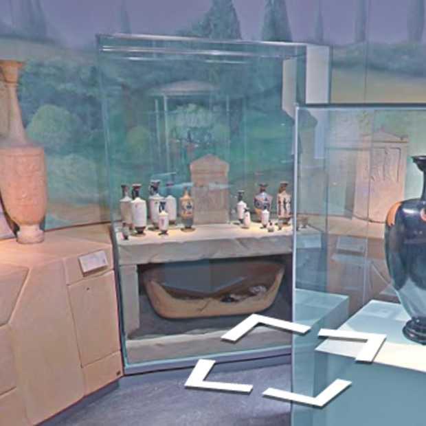 Het Rijksmuseum van Oudheden bezoeken via Street View
