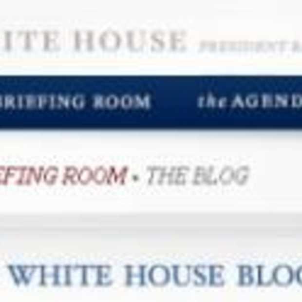 Het Witte Huis blogt