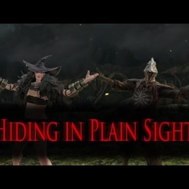 Dark Souls 2 hiding in plain sight
