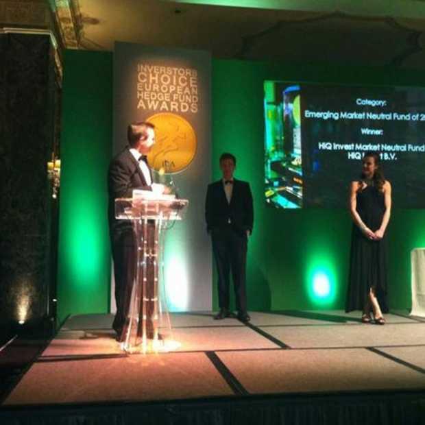 HiQ Invest winnaar Investors Choice European Hedge Fund Award