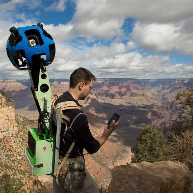 Hoe Google 'street-viewed' de Grand Canyon