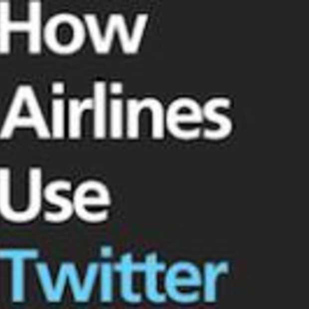 Hoe Luchtvaartmaatschappijen Twitter gebruiken [Infographic]