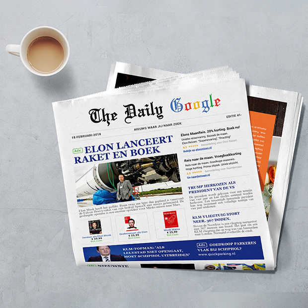 ​The Daily Google - Google als krant