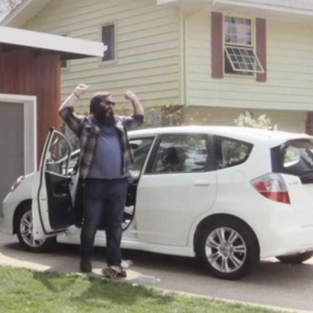 Honda lanceert opmerkelijke commercial voor de Honda Fit