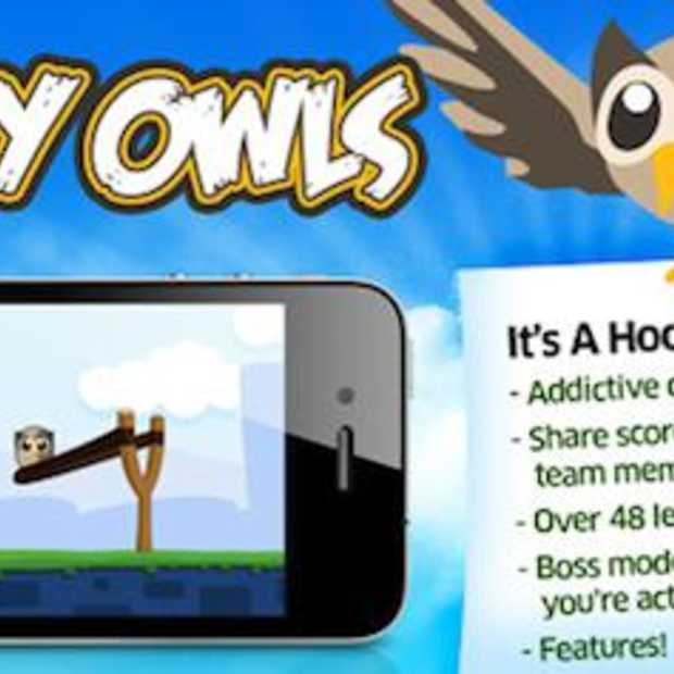 HootSuite April Fools : Angry Owls