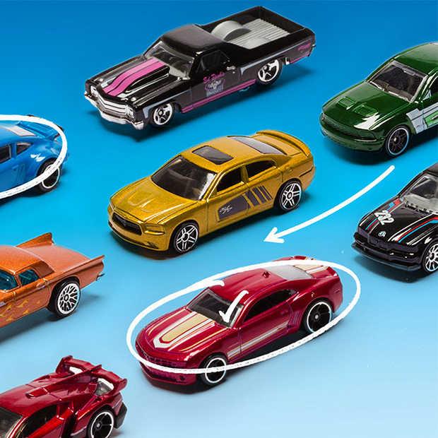 Ze bestaan al 50 jaar: Hot wheels!