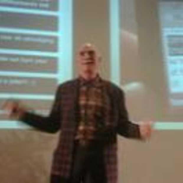 Howard Rheingold niet op zn best tijdens Transform 09